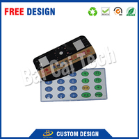 Made In China Custom Strong Adhesive 3M Waterproof Membrane Switch