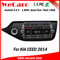 Wecaro WC-KC8055 Android 4.4.4 car stereo 2 din for kia ceed car navigation stereo mirror link 2014