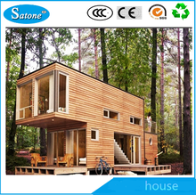 High quality prefabricated steel structure modular container house for sale