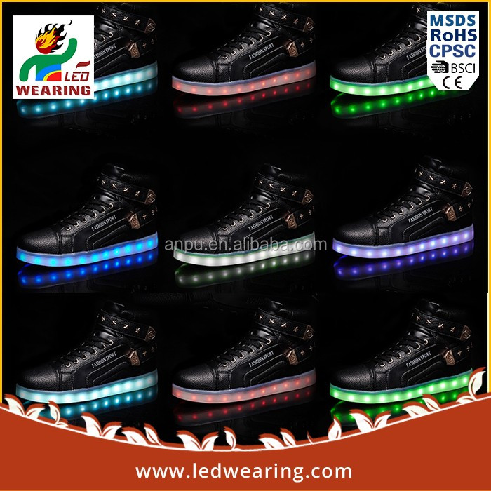 2016 Hot Product dancing led shoes dropshipping