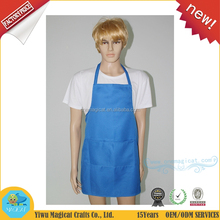 Recycle cheap wholesale custom promotion reuseable garden adults cooking apron kitchen apron