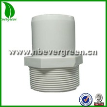 "pvc pipe fittings 2"" Male thread Spigot coupling Adapter"