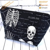 personalized design cosmetic bag popular small make up bag with zipper