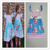 high quality remake cotton flutter sleeve baby frock design girl dress
