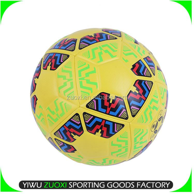 Factory supply superior quality perfect pu football soccer ball fast delivery