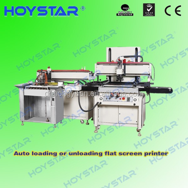 Semi auto digital silk screen printing machine for EL panel with touch screen control