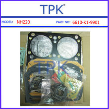 Komatsu NH220 overhaul gasket kit, NH-220 engine rebuild gasket kit 6610-K1-9901 6610-K2-9901