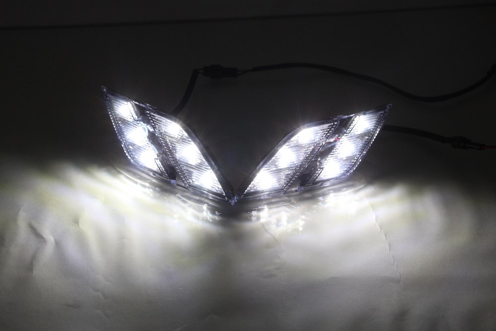 Factory supply Auto Accessory Durable led Daytime running light For Peugeot 301