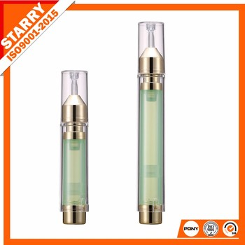 minni acrylic well quality cosmetic empty syringe container