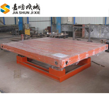 Construction used vibration shaker table for concrete moulds compression testing