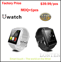 New 2014 Price Of Smart Watch Phone Smartwatch Bluetooth Watch WristWatch u8 smart watch
