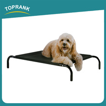 Toprank Durable Travel Outdoor Metal Frame Elevated Raised Dog Bed Pet Elevated Foldable Portable Pet Dog Bed