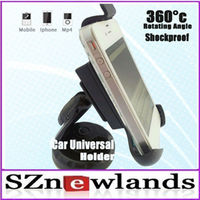 For iphone 4g car holder strong suction for GPS/ PDA/ Mobile phone/ MP4