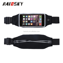 HAISSKY HSK -76 sports Lycra waist pouch 5.0 inch for iphone 7 / iphone 7 plus , 6 /6 plus