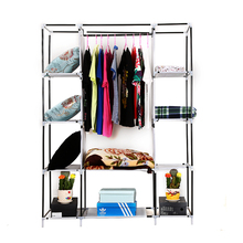 Portable Cheap Student Non-woven Fabric Wardrobe Clothes Quilt Shoes Cabinet