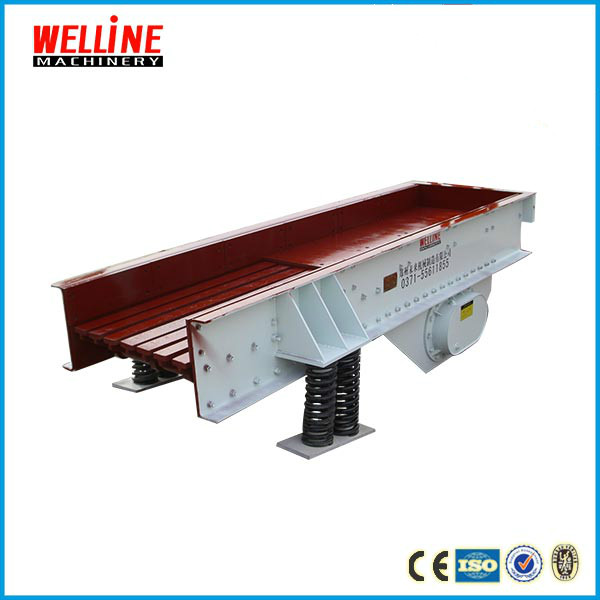 Large capacity feeder, mining feeder for raw material