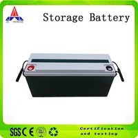 12V 150AH Recharge battery for solar power system