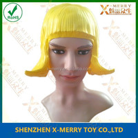 hot woman rubber wigs Head Cap Costume makeup quick self disguise