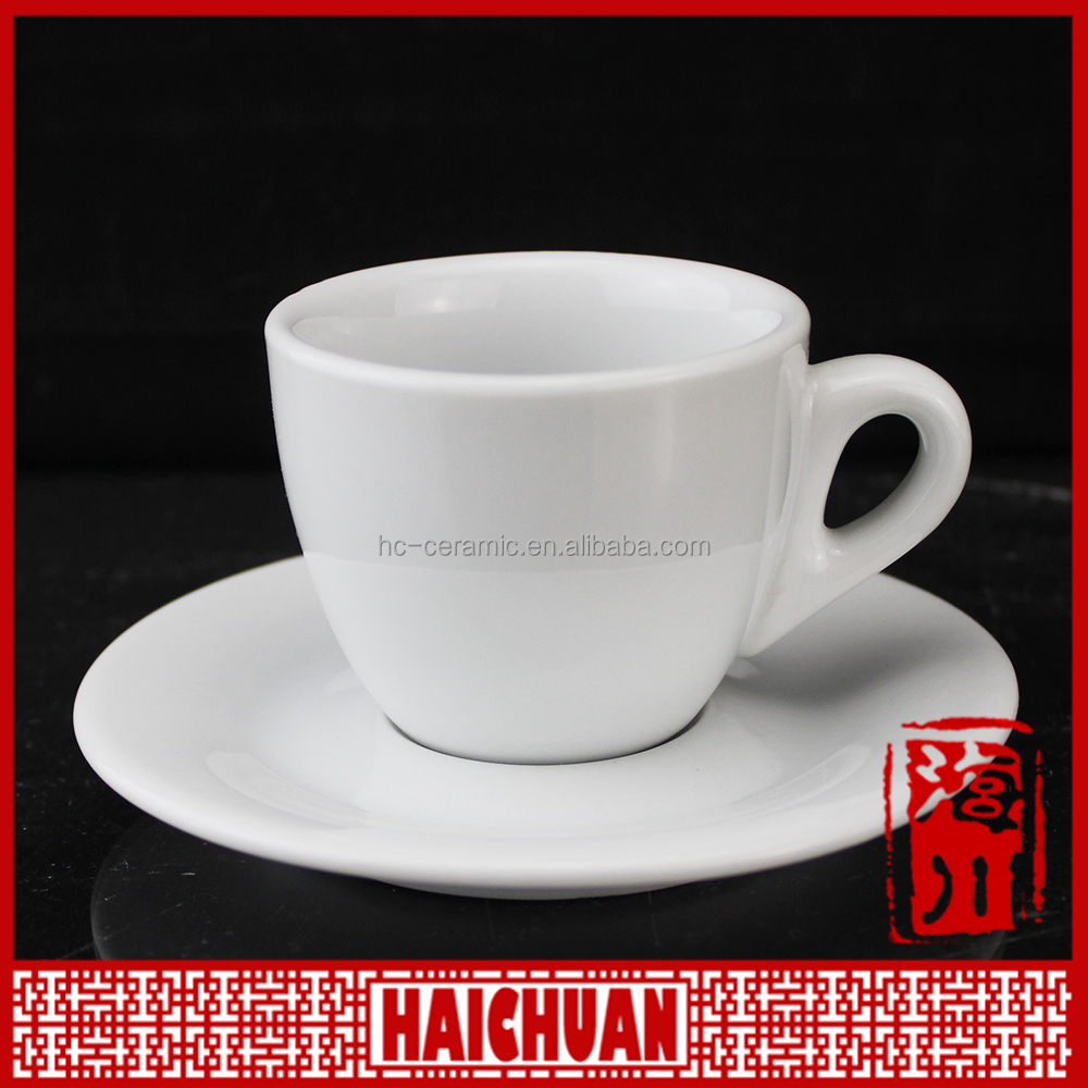 180cc stone plated porcelain bulk tea cup and saucer