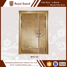 M15-54 China supplier front copper door used for the apartment entrance with European style made in China