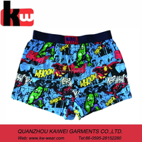 Custom Private Label Sexy Print Kids Underwear Models