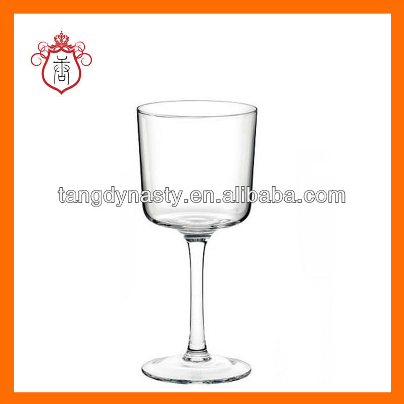 Hand blown wine glass names,square drinking glass