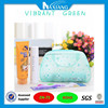 Manufacture Recyclable Cosmetic Zipper Frosted PVC Bag