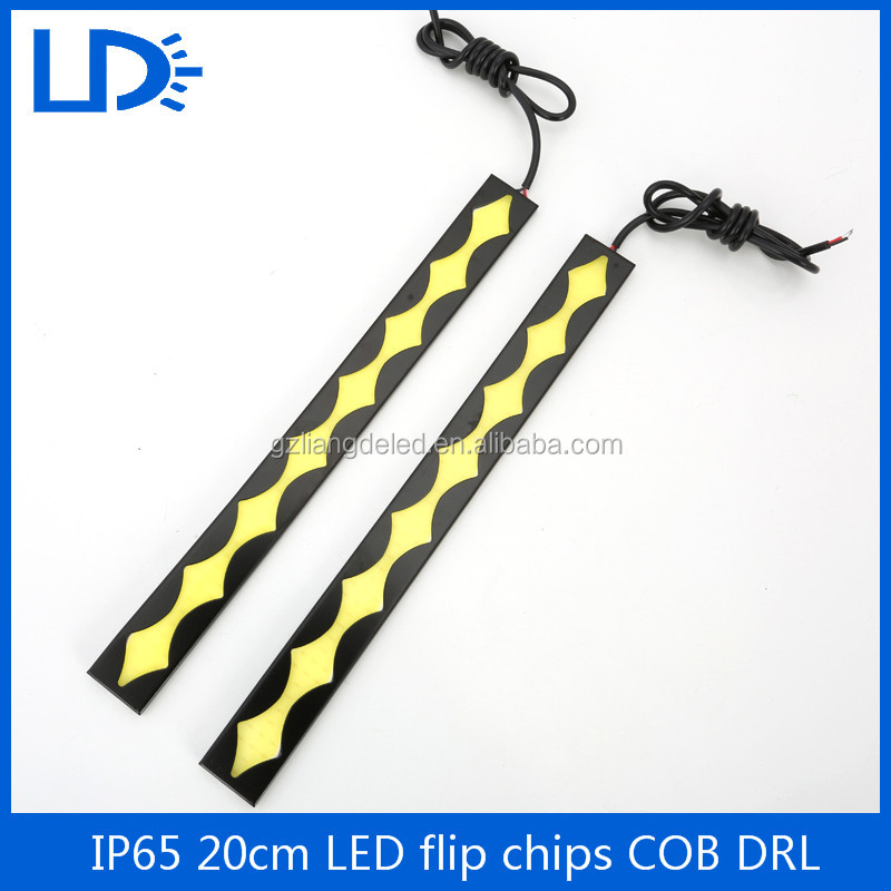 LED Driving Fog Light DC 12V Waterproof Auto Car DRL COB Day time Running Light for Audi Toyota BMW