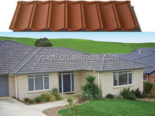 Sancidalo colorful stone coated metal roofing tile / metal corrugated tile roofing/Stone Chip Coated Metal Roof Tile sheet