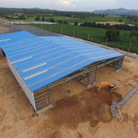 Prefabricated Steel Structure Warehouse Building Construction