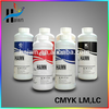 2016 On sales ! High fiuency dtg textile ink/t-shirt printing ink/Compatible Universal water based pigment garment printing ink