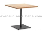 bar table w/wooden tabletop,bar table