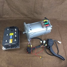 15kw 96v high torque electric vehicle engine, electric car / boat hub DC brushless motor