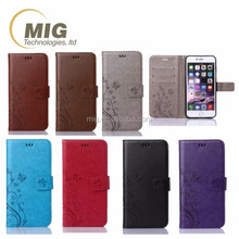 For samsung note 2 3 4 Flower pattern wallet leather case phone case For samsung galaxy note 5