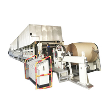 Waste paper recycling plant, paper carton making machine