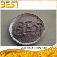 Best05SC price of 1kg bronze silver coated copper powder