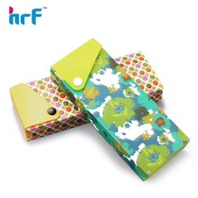 2015 new prety pattern pp paper slider pencil case,draw-out pencil case,PP draw pencil case