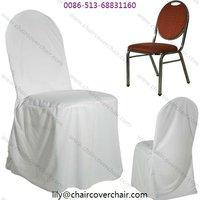 Plain Polyester Chair Cover For Banquet