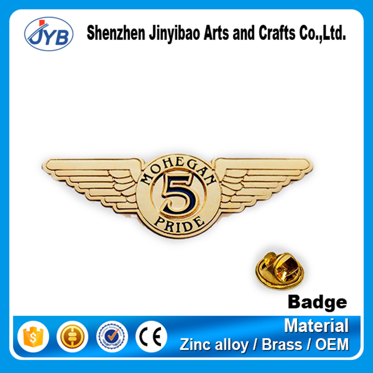 nice price custom 3m metal label pin badges zinc alloy metal round car badge