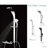 SS-JL638 Thermostatic High Quality Aluminium Shower Panel