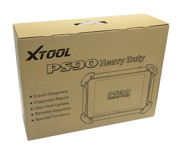 Xtool PS90 Heavy Duty Truck Diagnostic Scanner 12v 24v