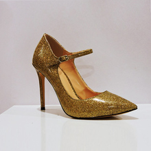 Fashion Pointy Toe Stiletto Ladies High Heel Pump Shoe