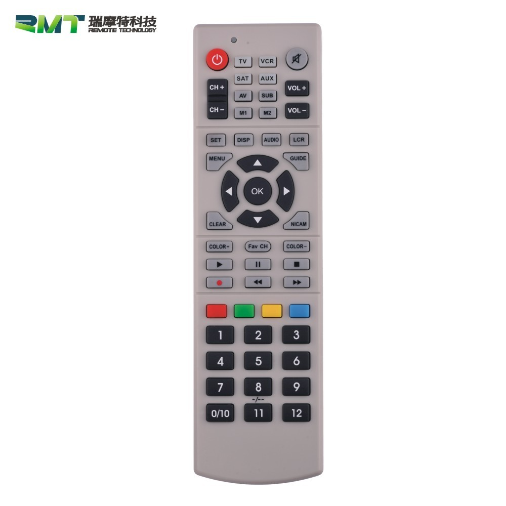 Six-axis Gyro- Sensor Fly or Air Mouse /2.4G wireless onida tv remote control for Android system, PC, Smart TV and IPTV
