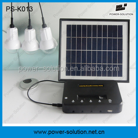 Factory Price energy saving China Supplier off grid solar system with phone charger
