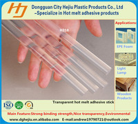 Transparent environmental adhisves plywood hot melt glue with wholesale