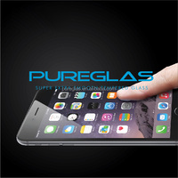 Pureglas screen protector bulletproof glass for mobile phone smart phone, self-adsorbed 9h screen guard for iPhone 6 plus