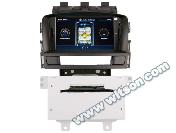 WITSON OPEL ASTRA J car dvd gps navigation with Auto Rear Viewing Function