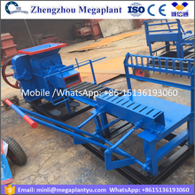 24HP Diesel engine driven Automatic soil red light weight brick making machine price