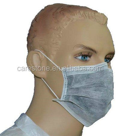 95*175 mm 4 ply active carbon face mask for medical use