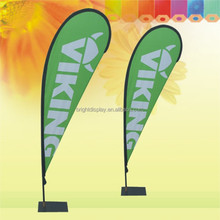 Outdoor Advertising feather street flag pole banner Stand.
